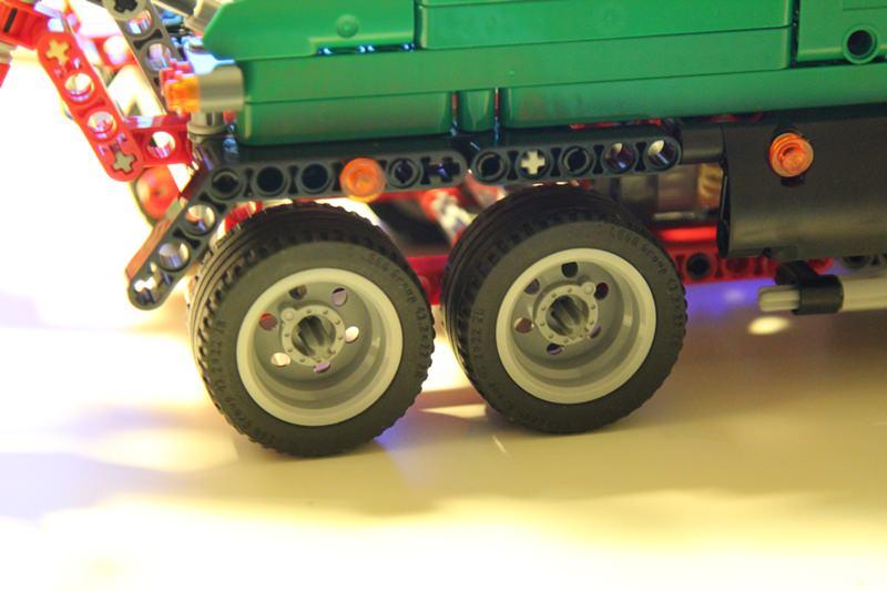 Роботизированная машина типа ПОГРУЗЧИК » робот из lego nxt 2.0 21