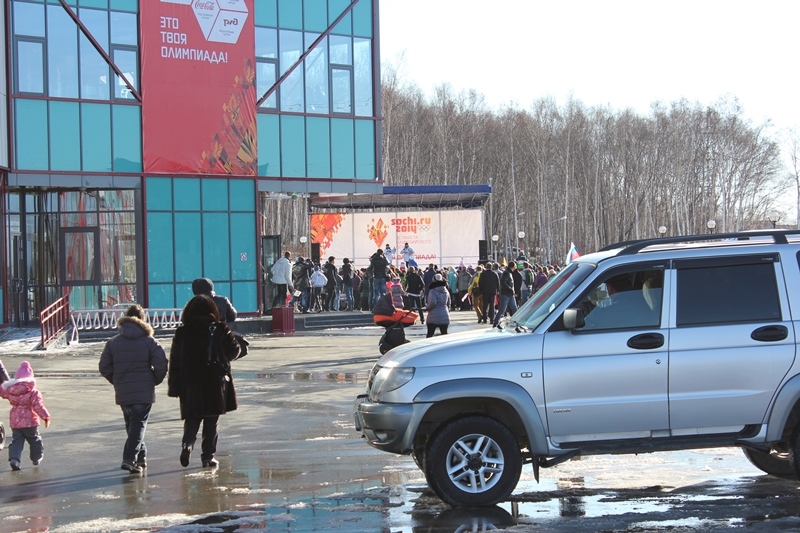 олимпийский огонь южно-сахалинск (2)